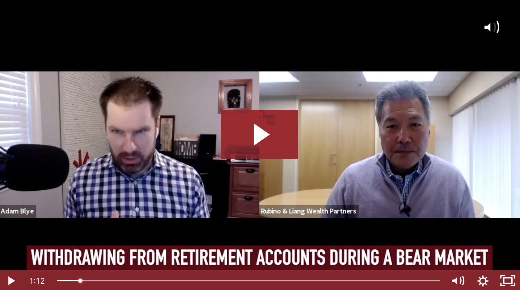 Withdrawing From Retirement Accounts in a Bear Market